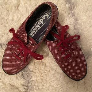 Red Polka Dot Keds